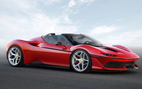 New Ferrari J50, looks like a modern better looking Mondial!