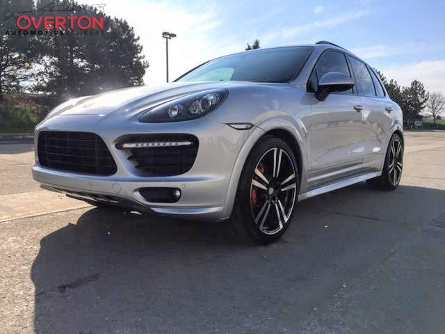 2013 Cayenne Gts In Arctic Silver With Black Interior With